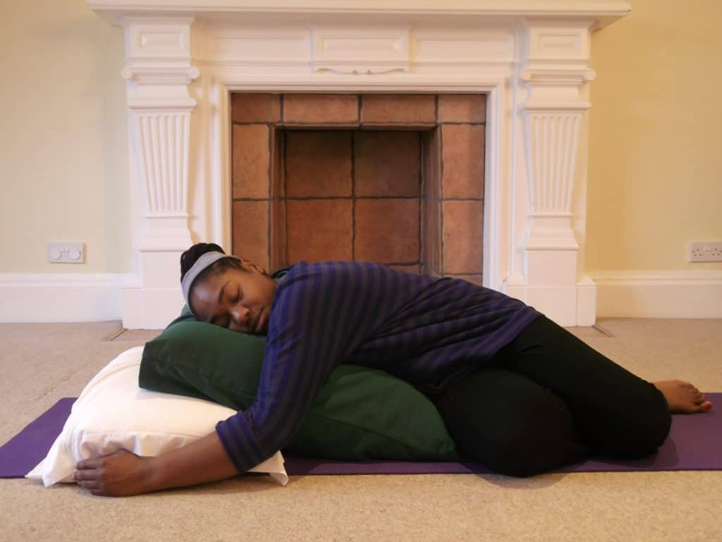 Enjoy Restorative Yoga and Yoga Nidra on our Relax & Restore Retreats at Florence House
