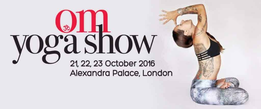 See you at the OM Yoga Show this Month
