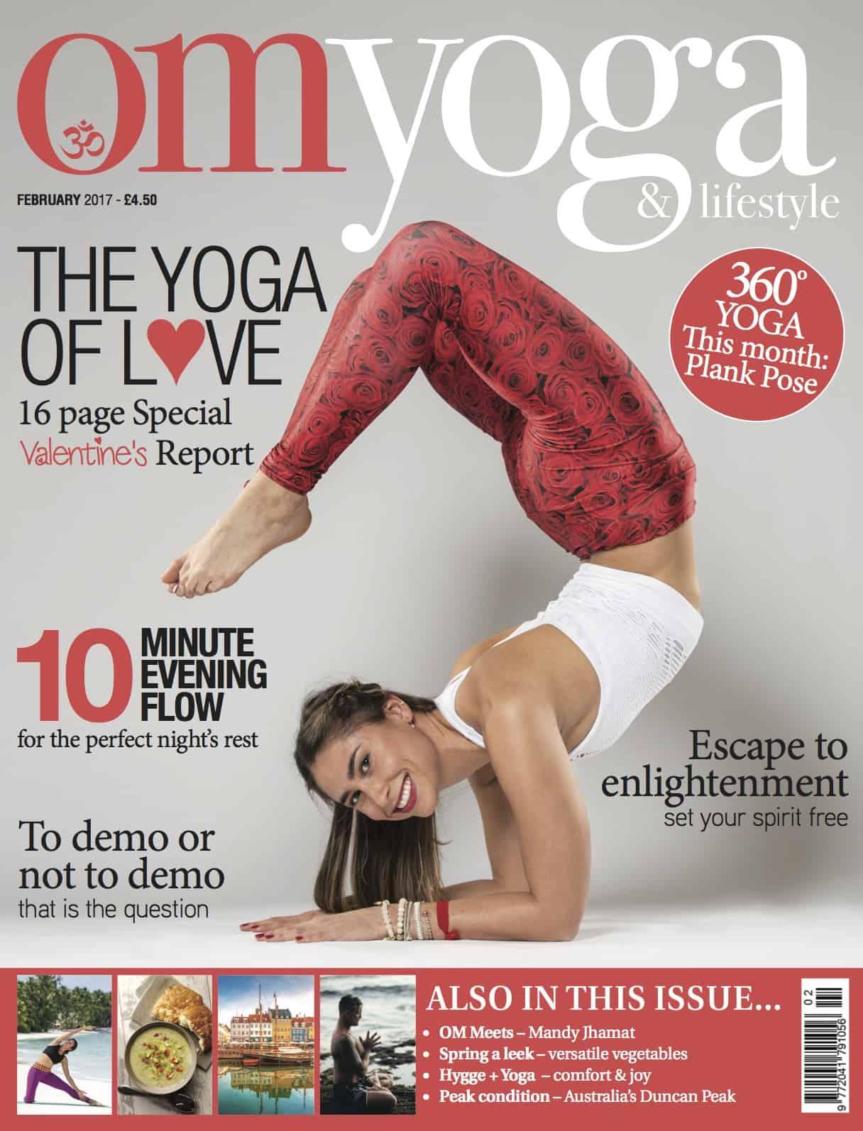 Om Yoga Magazine February 2017
