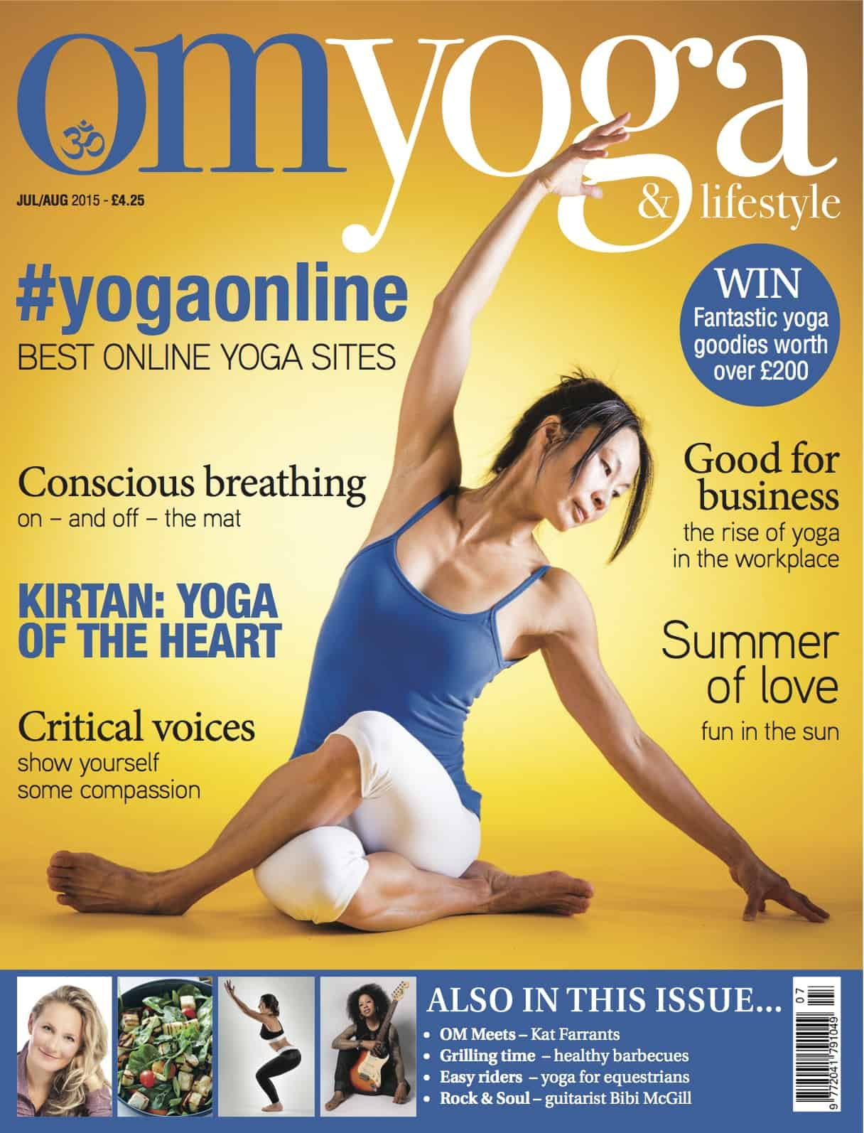 Om Magazine July/Aug 2015