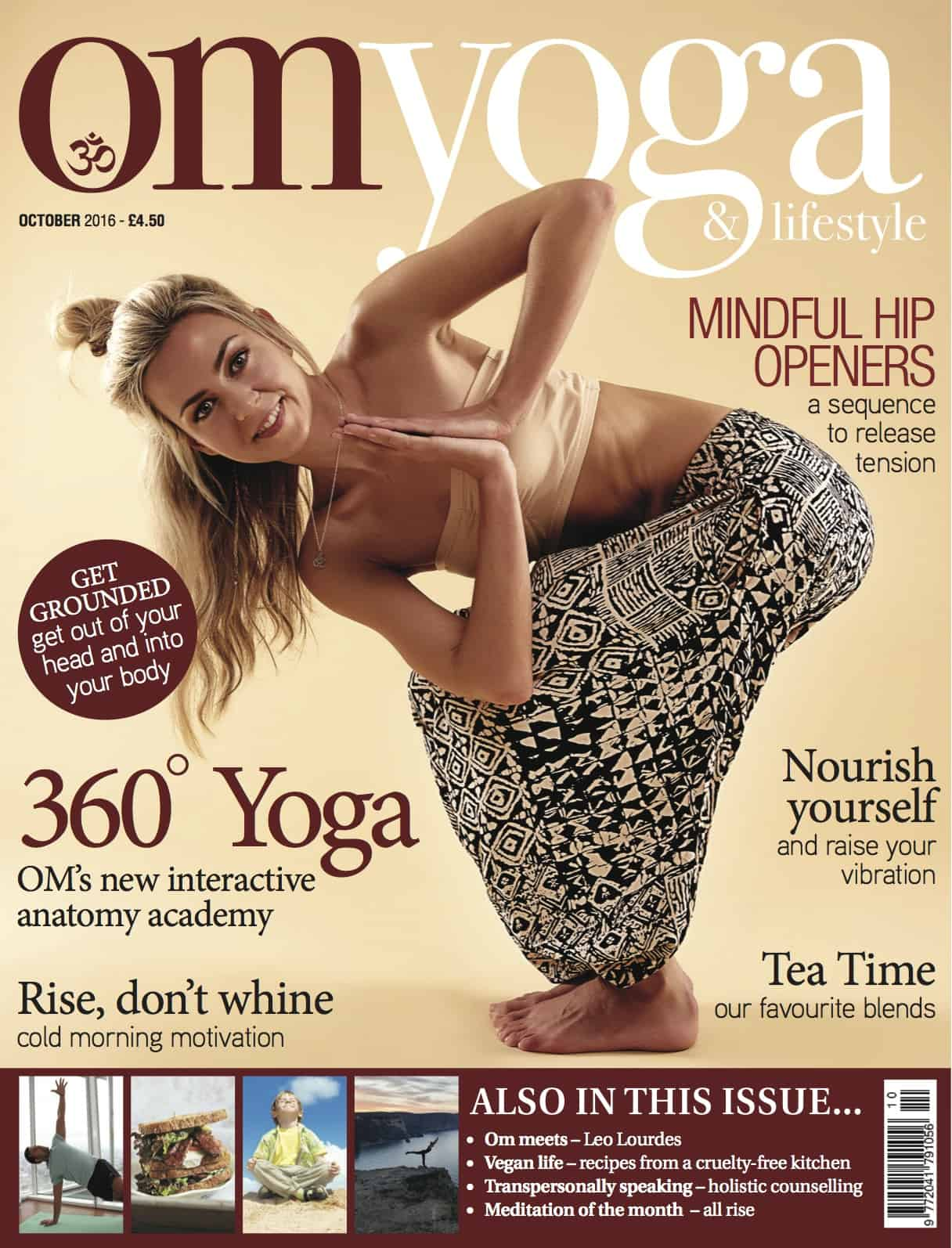 Om Yoga Magazine October 2016