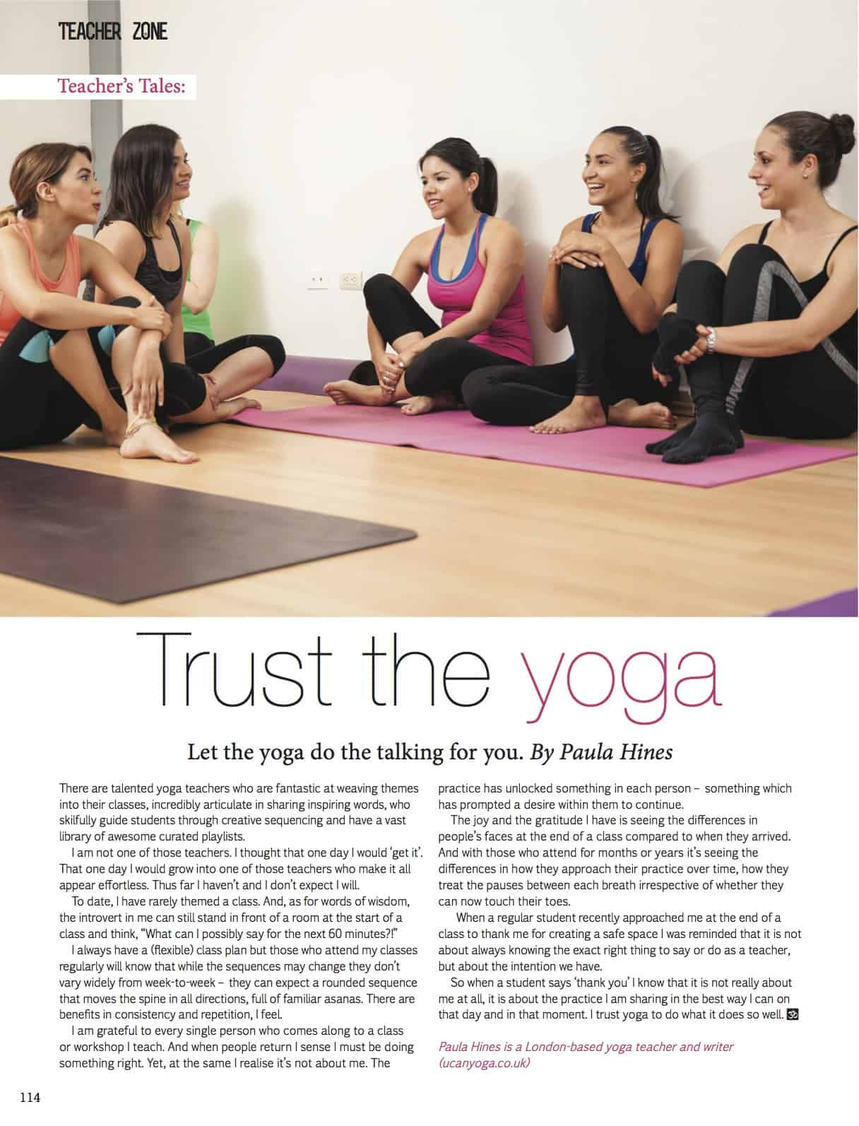 Yoga: a selection of articles