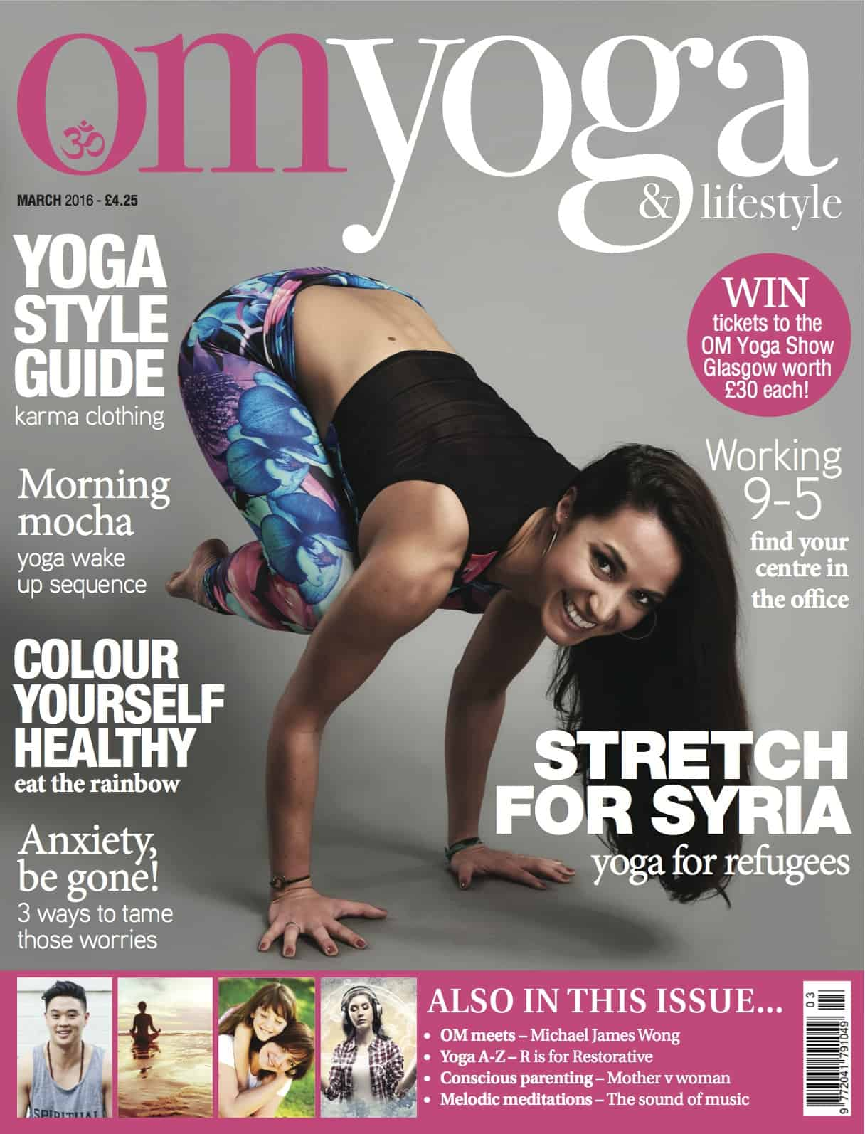 Om Yoga Magazine March 2016
