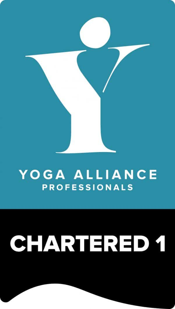 Yoga Alliance Chartered Level 1 Logo