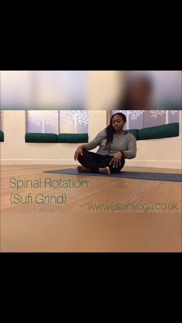 Mobilise the Spine with Sufi Grinding (Spinal Rotations)