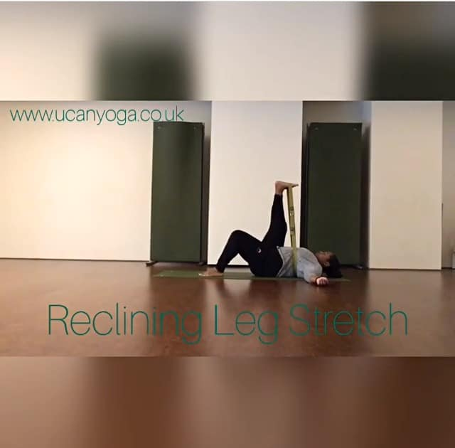 Yin Yoga for Runners: Reclining Leg Stretch