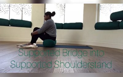 Supported Bridge into Supported Shoulderstand