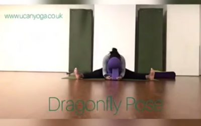 Yin Yoga: Dragonfly Pose