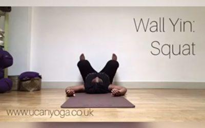 Wall Yin: Squat