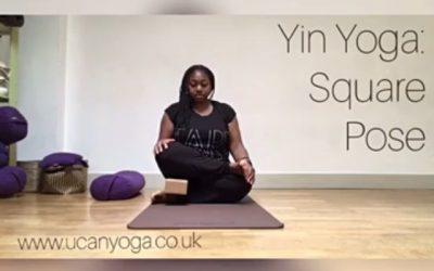 Yin Yoga: Square Pose