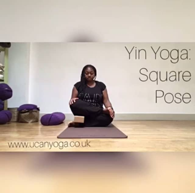 Yin Yoga: Square Pose