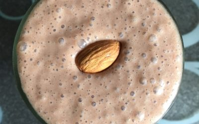Chocolate, Peanut Butter & Banana Shake Recipe