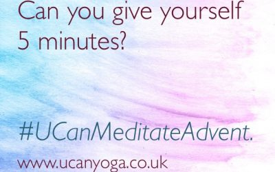 Meditate Advent: Can You Give Yourself 5 Minutes?