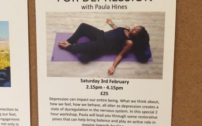 A Second Restorative Yoga for Depression Workshop