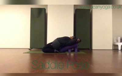 Winter Yin Yoga: Saddle Pose
