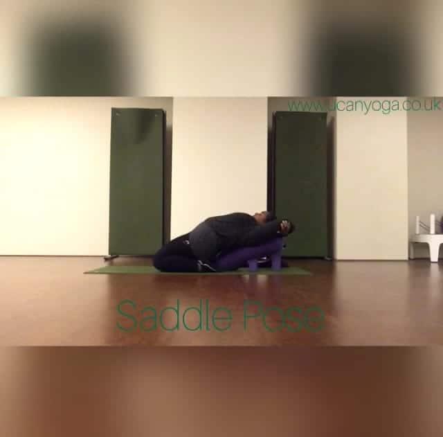 Winter Yin Yoga: Saddle Pose