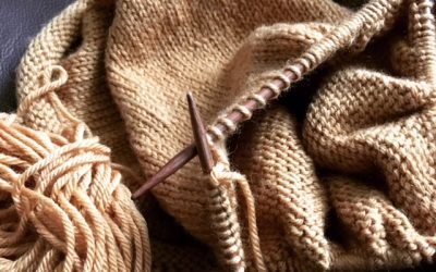 Knitting for Stress Relief – Stress Awareness Month